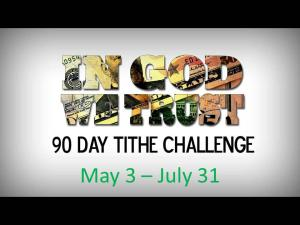90 Day Tithe Challenge