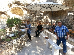 11 Communion at Garden Tomb 2013-09-25