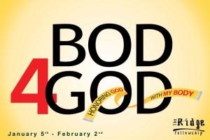 Bod 4 God poster