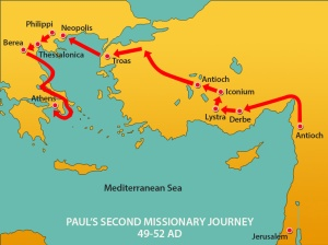 1b 2nd Missionary Journey