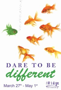 Dare to Be Differnt